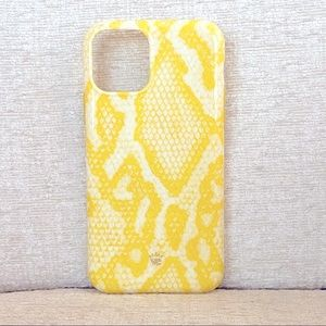 Velvet Caviar Yellow Snakeskin iPhone 11 Pro Case